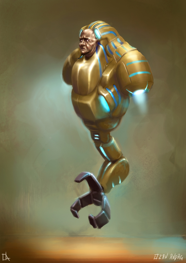 Pharaonic Priestbot by 21october