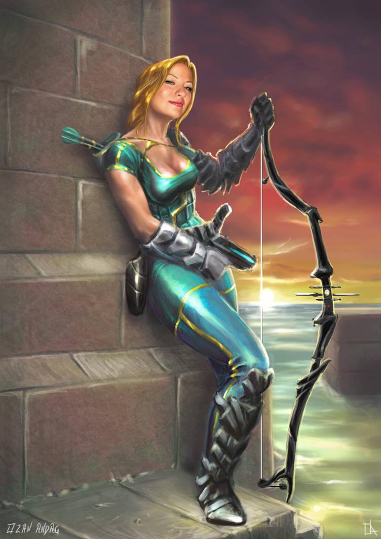 Smyrne-the Amazon Princess by 21october
