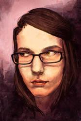 Self Portrait by anti-ignoramus