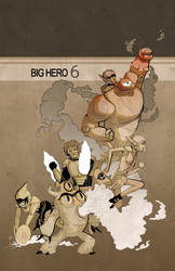 Big Hero 6 by anti-ignoramus