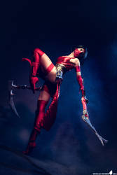 Crimson Akali cosplay (League of Legends) - 11
