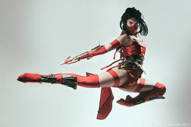 Crimson Akali cosplay (League of Legends) - 08