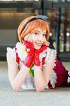 Love Live! Rin Hoshizora cosplay by Morgawze