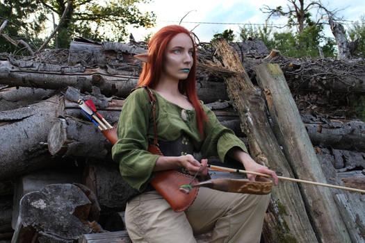 Elvish archeress
