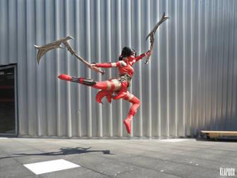 Crimson Akali cosplay (League of Legends) - 19