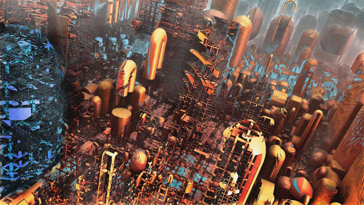 Gold City B 02 by Godino