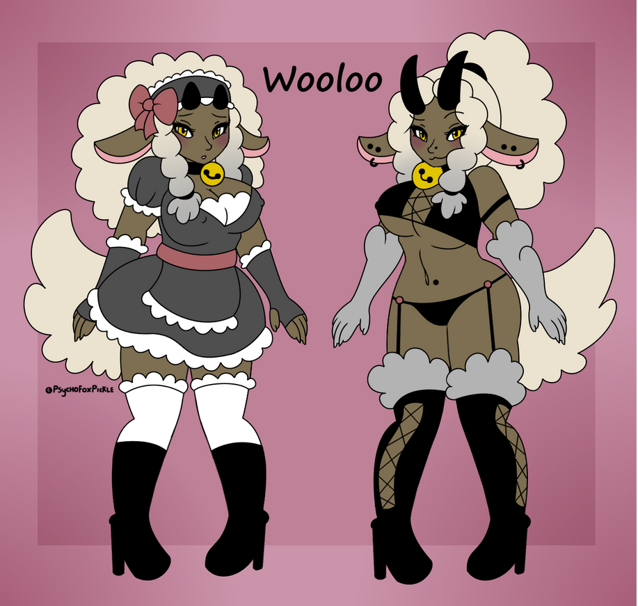 Wooloo Gal Auction (CLOSED) by TechSupportCyber on DeviantArt