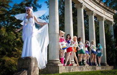 Sailor Senshis by NikitaCosplay