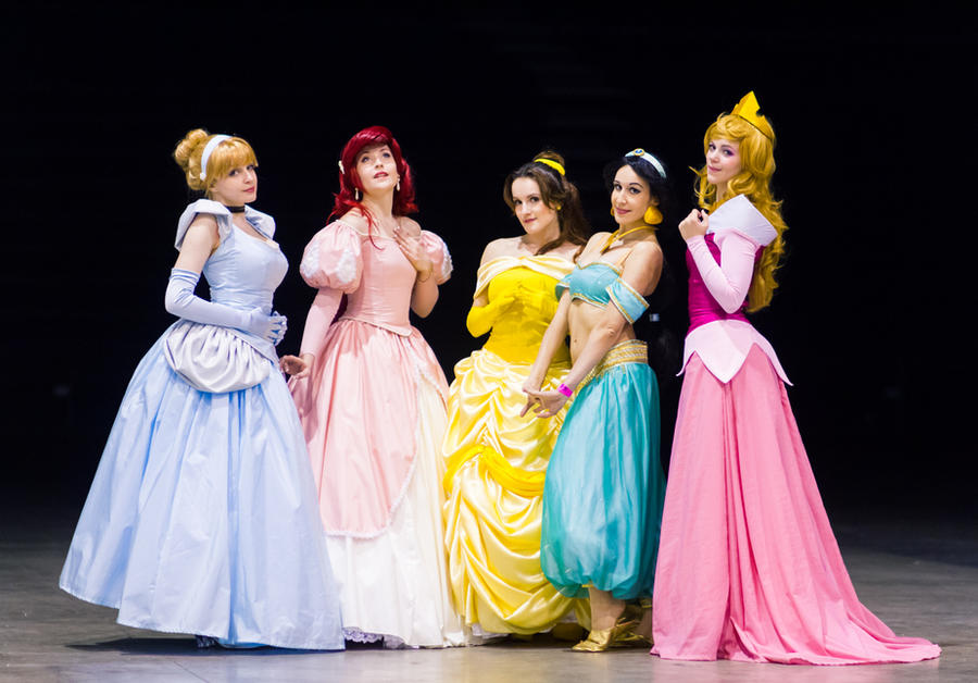 Disney Princesses by NikitaCosplay