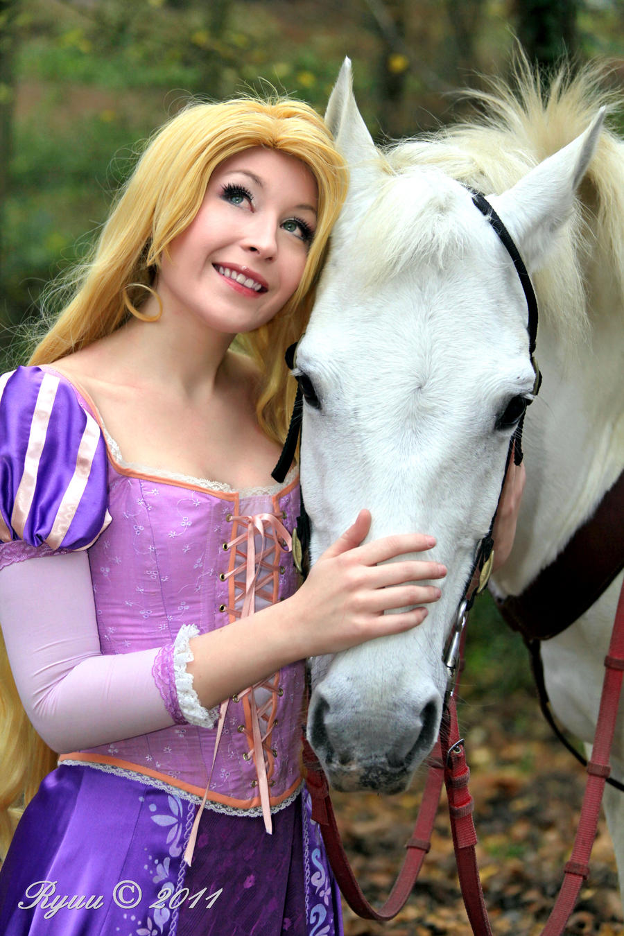 Rapunzel and Maximus by NikitaCosplay