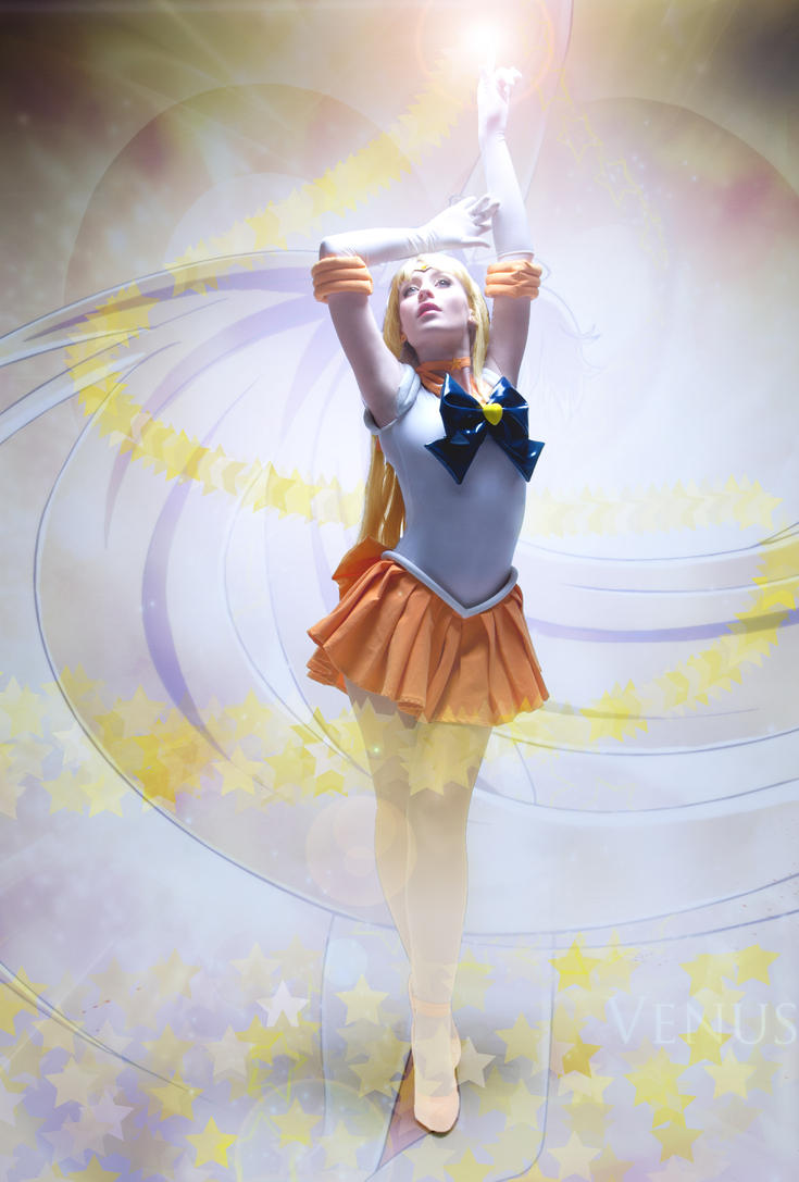 Super Sailor Venus by NikitaCosplay