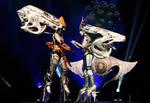 Shiva Sisters from Final Fantasy XIII by NikitaCosplay