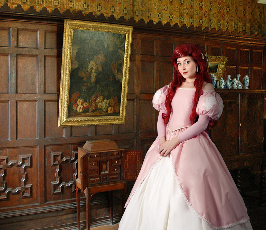 Ariel Pink dress by NikitaCosplay
