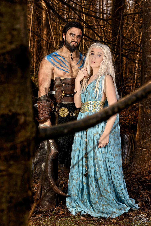 Khal and Khaleesi by NikitaCosplay on DeviantArt