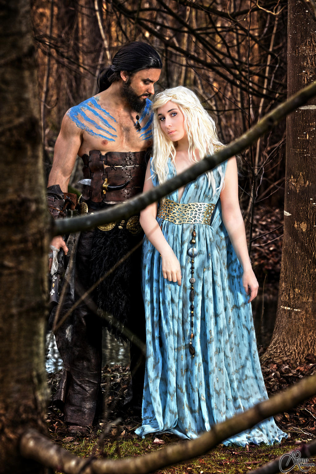 Khal and Khaleesi by NikitaCosplay