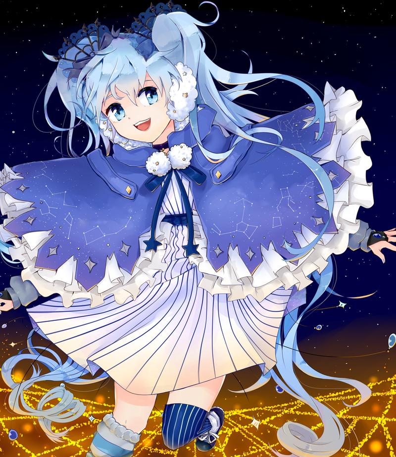.:Winter Night Miku:. by Tohru0chan