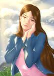 Art trade w/Handsome-Kiiro of Karina Munro