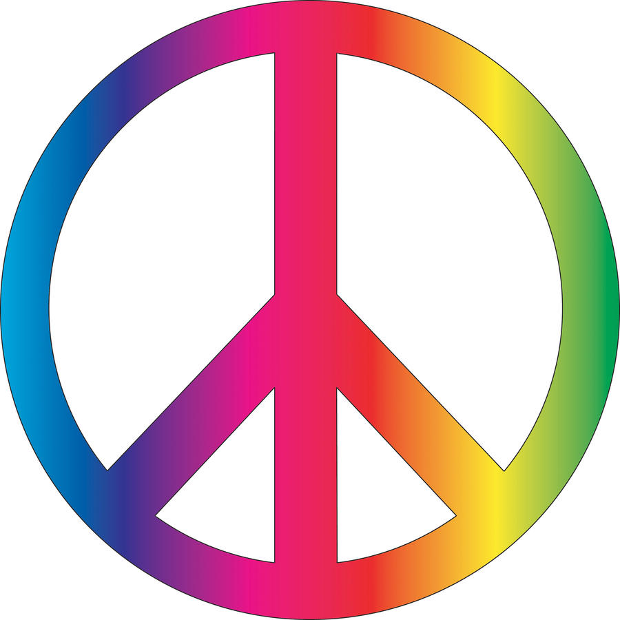 Peace Symbol Vector by roxannemartin on DeviantArt