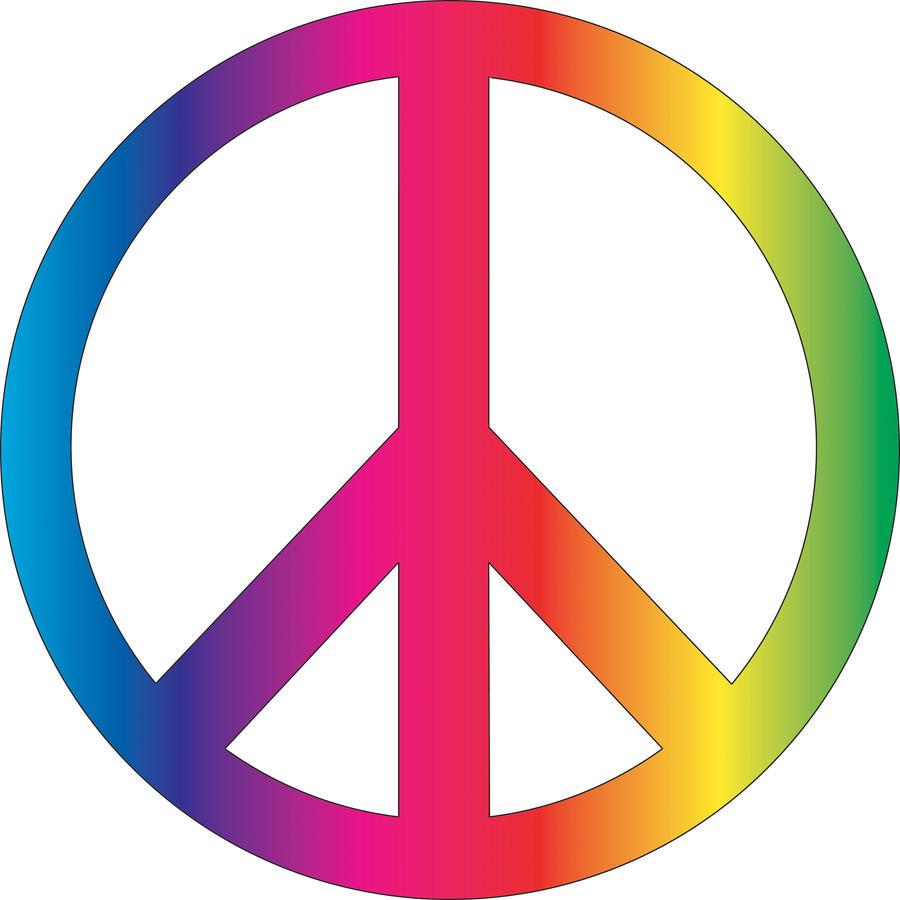 Peace Symbol Vector by roxannemartin on DeviantArt