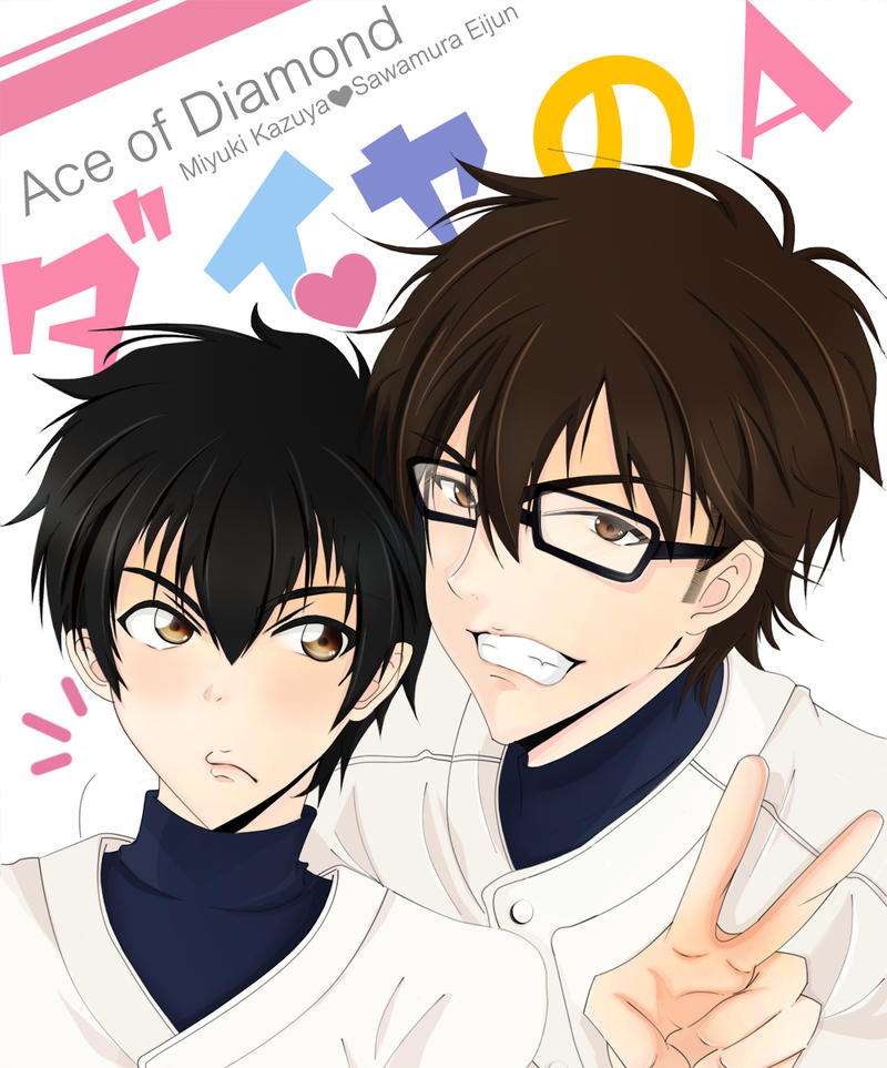 Ace Of The Diamond: [Ace Of Diamond] MisawA By Tanukiji On DeviantArt