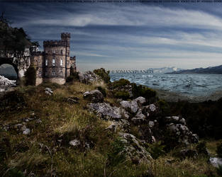 castle by the sea. by somanyplanets