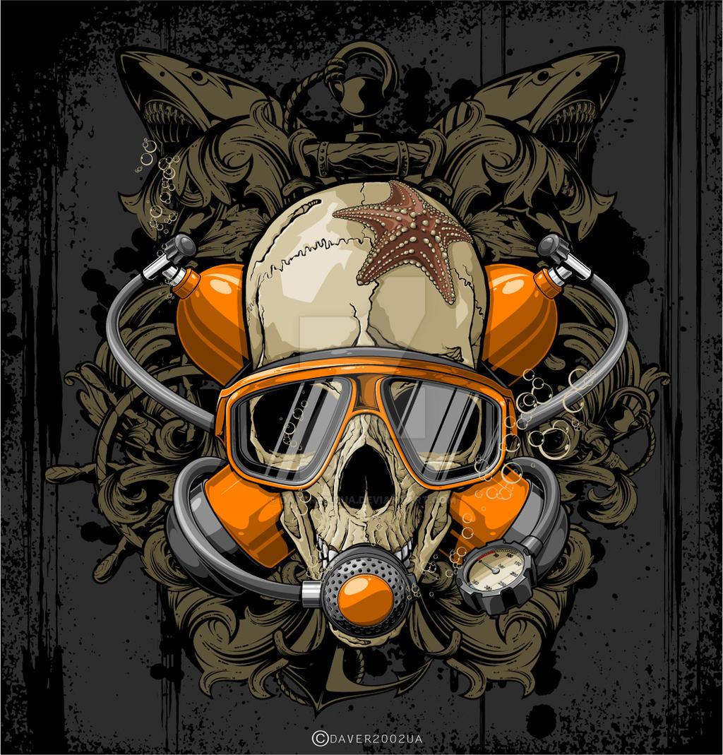 dead diver by Daver2002ua