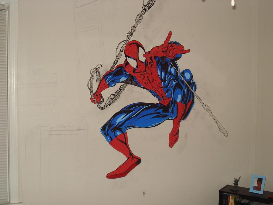 Spiderman mural by spidey3194 on deviantart - Poster mural spiderman ...