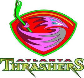 Atlanta Thrashers Logo odd by SyNiZterDesignZ