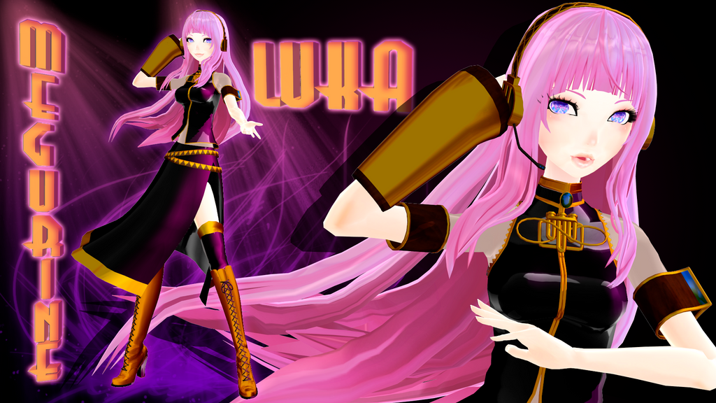 Luka Megurine - dowload - dl data available by HoshichoM
