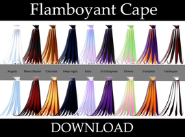 Flamboyant Cape : HALF PRICE! by HoshichoM