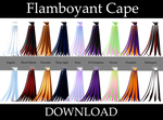 Flamboyant Cape : HALF PRICE!