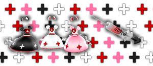 MMD Bloody nurse dress + inyection DOWNLOAD DL
