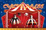 MMD dl : Circus dress + hat download