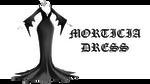 MMD DL : Morticia dress download