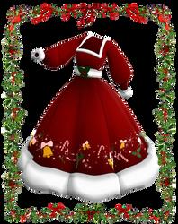 Mama Claus dress MMD download