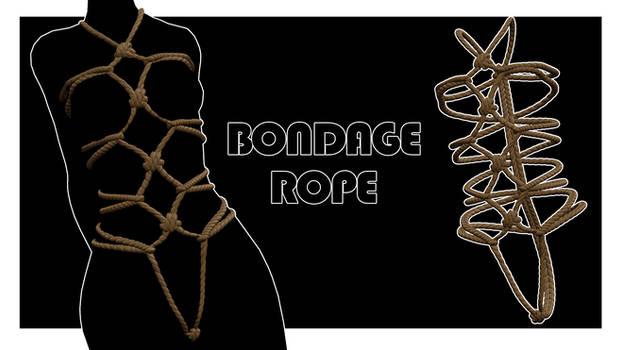 Bondage rope download (MMD)