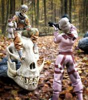 Skeleton Travelers