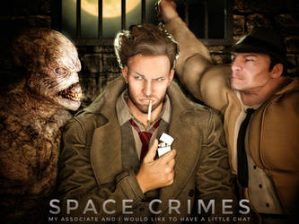 Space Crimes-My Associate and I Would Like to Chat by Slofkosky