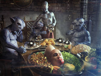 The Feast by Slofkosky