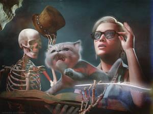 Misty vs. the Skeleton Crew