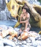 Cleopatra Dragon Rider-The Mysterious Man