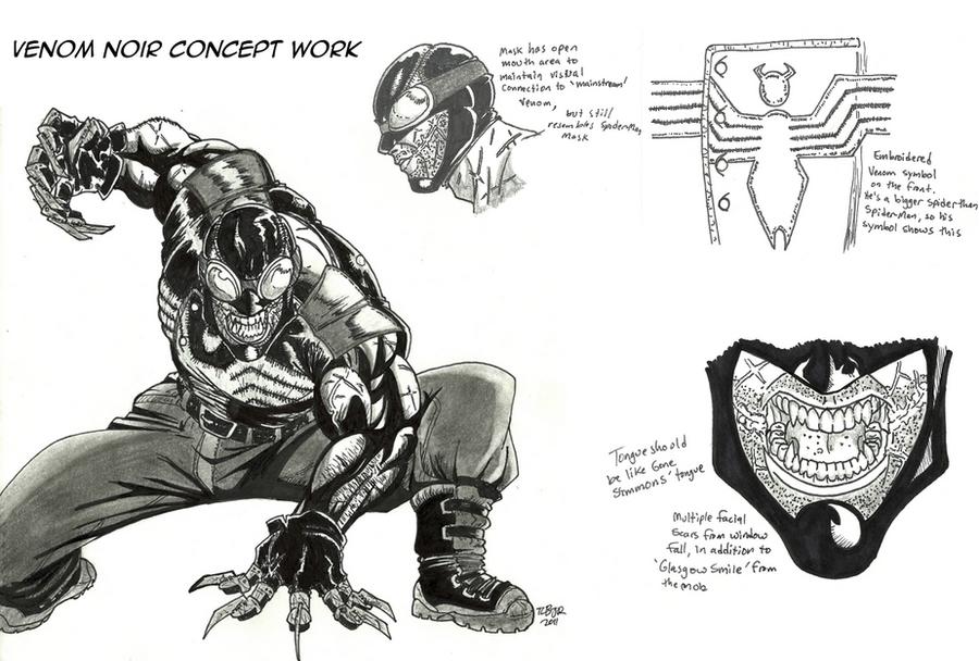 Venom Noir Concepts by MalikStudios
