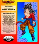 Son Goku ASSJ4 Bio Card