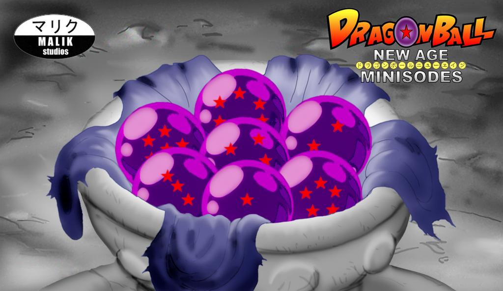 Minisode 2 Preview - Black Dragon Balls by MalikStudios