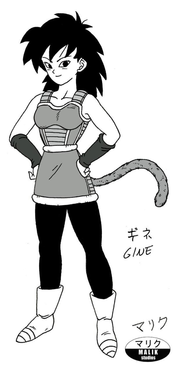 Gine - Mother of Goku by MalikStudios