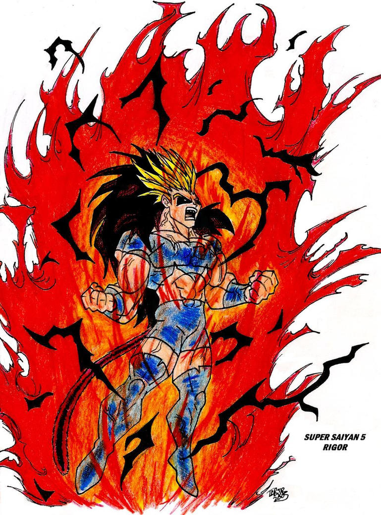 Super saiyan 5 by malikstudios on deviantart - Goku super sayan 5 ...