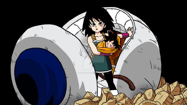 What If - Gine and Goku