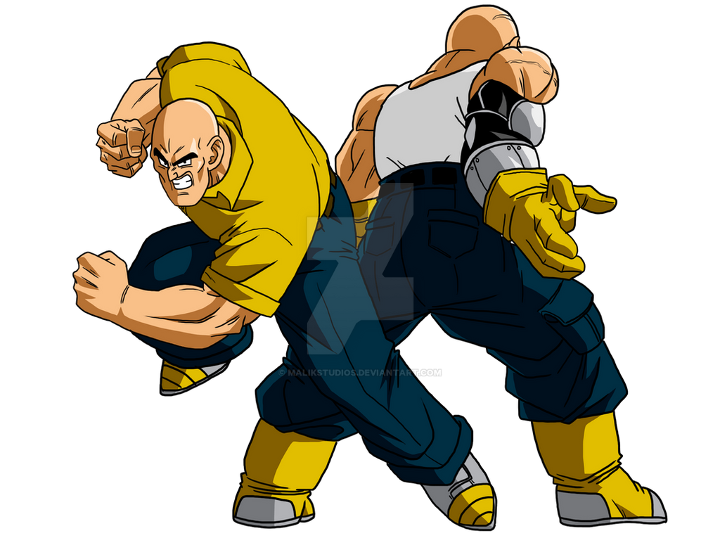 what if nappa times two by malikstudios on deviantart