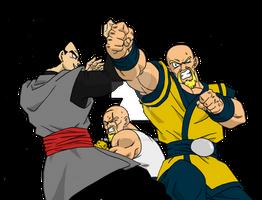 What If - Gohan Black vs Nappas