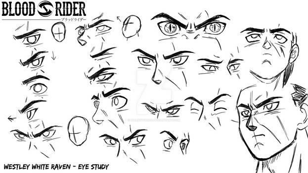 Blood Rider - Westley Eye Study